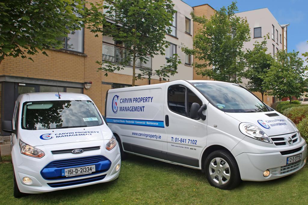 Carvin Property Management Vehicles